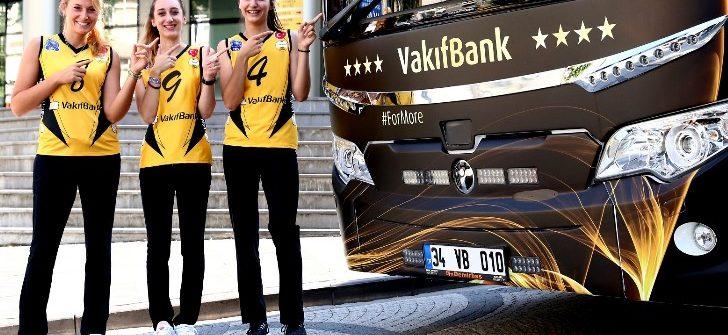 Vakıfbank şampiyonluk 'Maraton'una TEMSA'yla koşacak