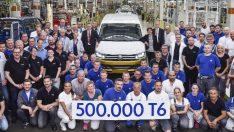 Volkswagen'de 3 yılda 500 bin Transporter sevinci