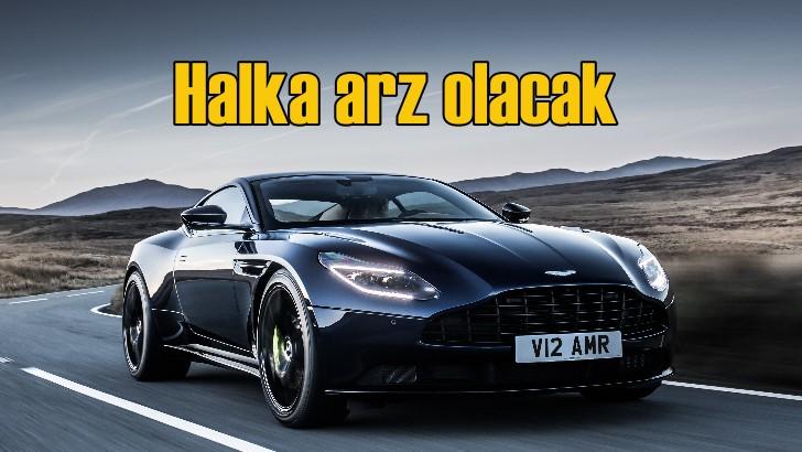 Aston Martin halka arza hazırlanıyor