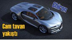 Bugatti Chiron'a cam tavan takviyesi