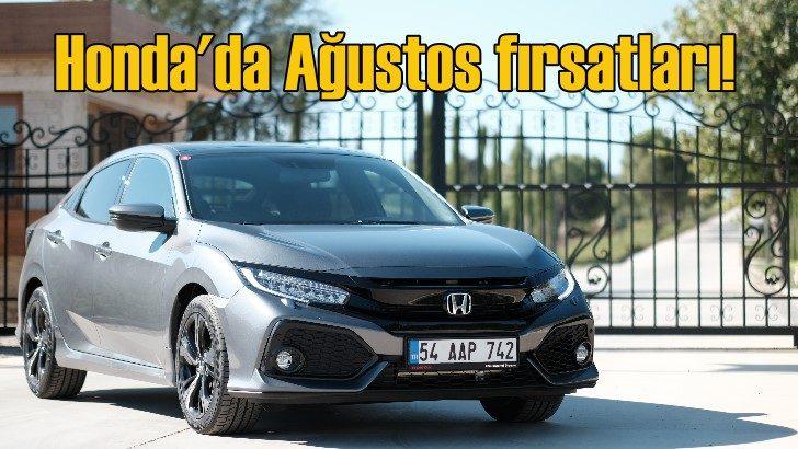 Honda Civic'te 35 bin TL'ye 15 ay yüzde 0.99 faiz fırsat!