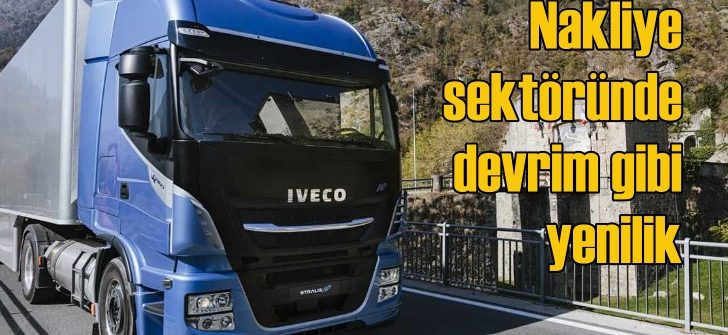 IVECO'dan doğalgazlı çevreci kamyon