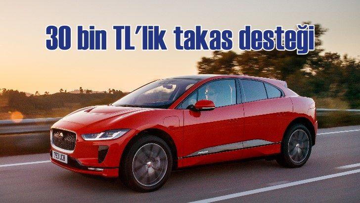 Jaguar ve Land Rover'da 30 bin TL'lik takas desteği