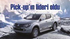 Mitsubishi L200 yılın ilk 7 ayında Pick-up'ın lideri oldu