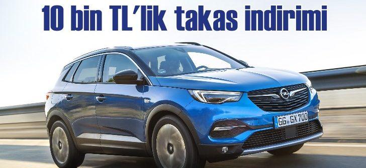 Opel'de büyük takas desteği