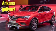 Renault Arkana'nın ilk gösterimi Moskova'da yapıldı