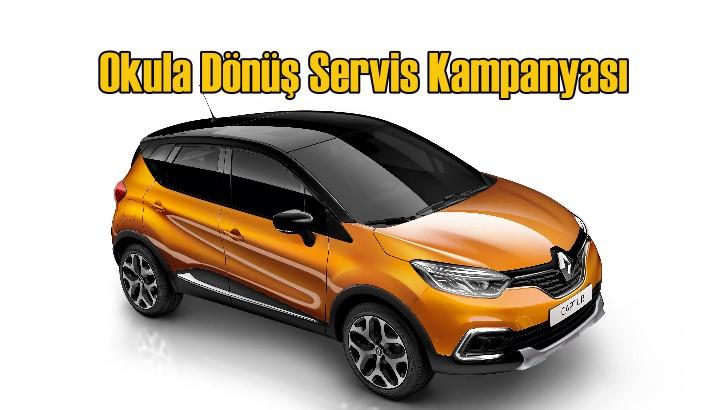 Renault ve Dacia'da 'Okula Dönüş Servis Kampanyası' başladı