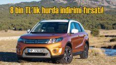 Suzuki Vitara'da 8 bin TL'lik hurda teşviki fırsatı!