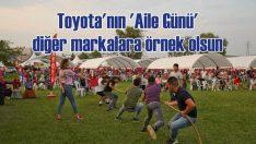 Toyota çalışanlarına fabrika bahçesinde 'Aile Günü' düzenledi