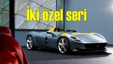 Ferrari'den iki özel seri