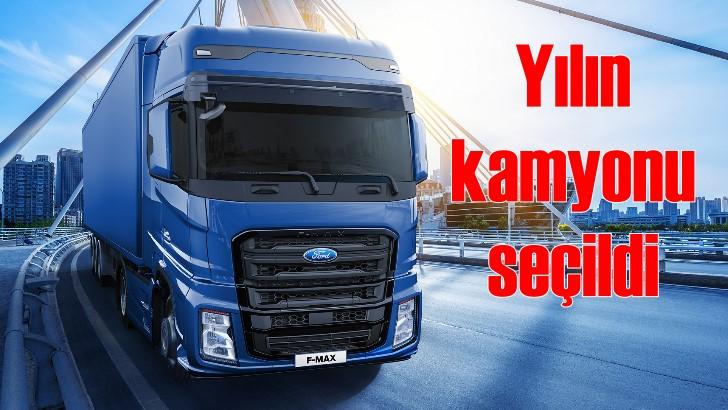 Türkiye'de üretilen F-Max 'Yılın Kamyonu' seçildi