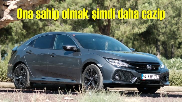 Honda Civic sahibi olmak Eylül'de daha cazip!