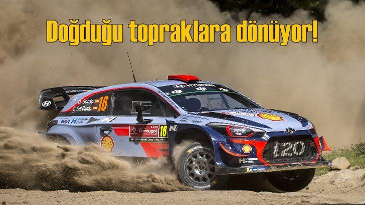 Doğduğu topraklara dönüyor: Hyundai i20 WRC
