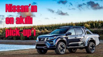 Nissan'ın geliştirdiği en akıllı pick-up