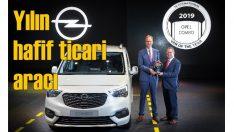 Yılın Ticari Aracı Ödülü Combo'nun oldu