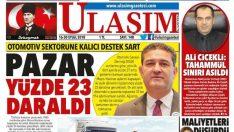 Ulaşım Gazetesi'nde 148. sayı gururu
