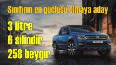 Volkswagen Amarok'un en güçlüsü satışa sunuldu