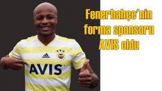 AVIS, Fenerbahçe'nin forma göğüs sponsoru oldu