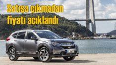 Yeni Honda CR-V satışa sunulmadan fiyatı açıklandı!
