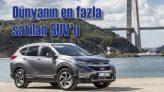 Sınıfının en güvenli aracı Honda CR-V yeni yüzüyle Türkiye'de