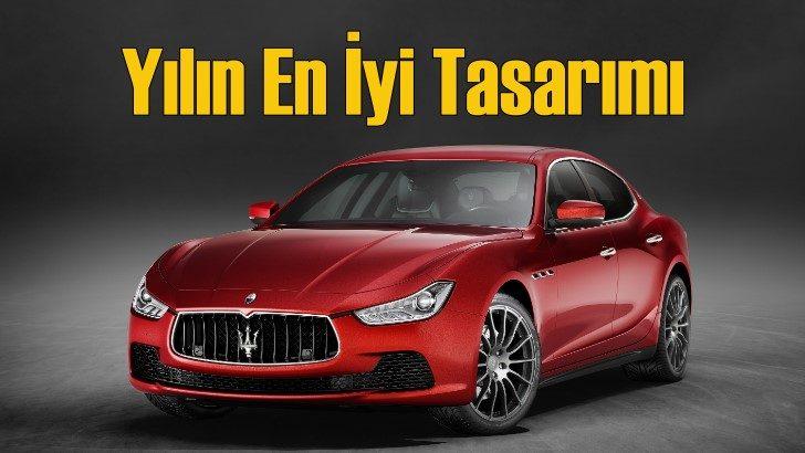Maserati Ghibli tasarım ödülüne layık görüldü