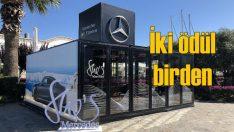 Mercedes-Benz Pop-up Store'a iki ödül birden!