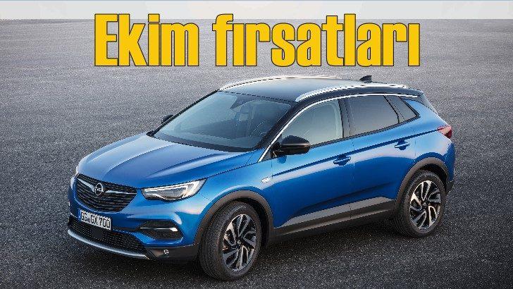 Opel'de Ekim fırsatları başladı!