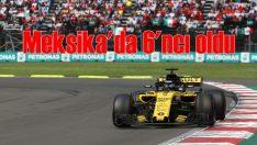 Renault Sport Meksika'da 6'ncılık elde etti
