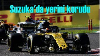 Renault Suzuka'da yerini korudu