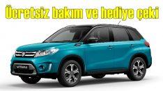 3 yıl ücretsiz bakım, 2 bin TL hediye çeki: Suzuki Vitara!