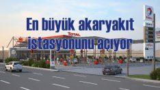 Total'in en büyük istasyonu yeni havalimanında açılıyor