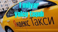 Yandex Taksi rekora imza attı