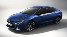 2019 Toyota Corolla Sedan'dan ilk görüntü
