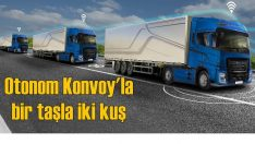 Ford Otosan ve AVL 'otonom konvoy'la yakıt tüketimini azaltacak