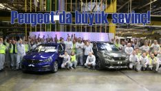 Peugeot'da 500 bin 3008, 1 milyon adet 308 üretimi sevinci