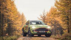 Aston Martin'in SUV'u 'DBX' sahneye çıkmaya hazırlanıyor