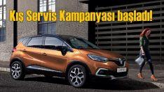 Renault ve Dacia'da Kış Servis Kampanyası başladı