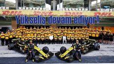 Renault'nun F1'deki yükselişi devam ediyor