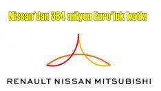 Nissan'dan Renault Grubu'na 384 milyon Euro'luk katkı!
