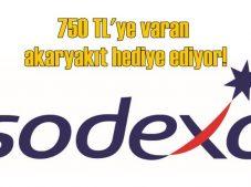 Sodexo'da 750 TL'lik akaryakıt kazanma fırsatı!
