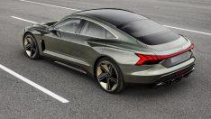 Audi'den elektrikli coupe: E-tron GT