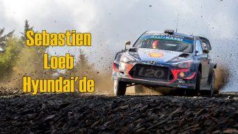 Efsane Pilot Sebastien Loeb Hyundai'de