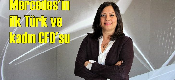 Mercedes'te ilk kadın CFO dönemi