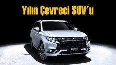 """Mitsubishi Outlander'a """"Yılın Çevreci SUV'u"""" ödülü!"""