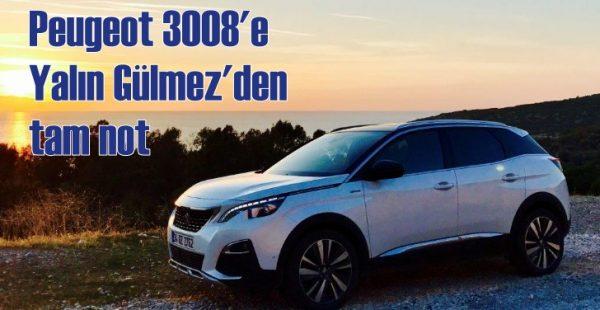 Peugeot 3008'e ödül yağıyor!