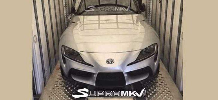 Toyota Supra ilk kez bu kadar net görüntülendi