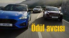 2018'de Yeni Ford Focus'a ödül yağdı