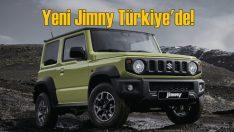 Yeni Suzuki Jimny Türkiye'de!