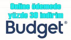 Budget'tan kiralamada yüzde 30 indirim