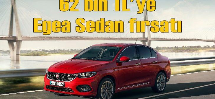 Fiat Egea'da şok fiyat: 62 bin TL